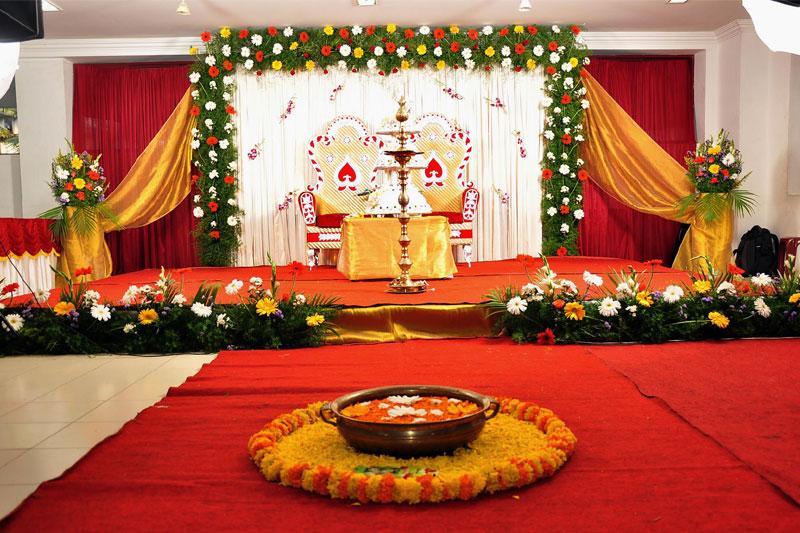 P K M Flower Decorators Home Wedding Hall Decorators